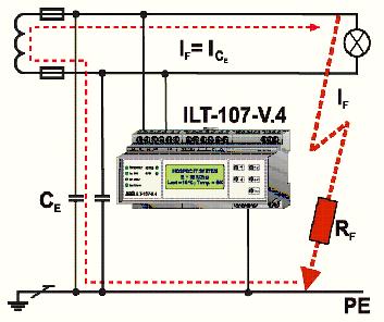 İzolasyon yük ve sıcaklık izleme cihazı